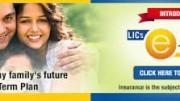 LIC E-Term - Online Term Plan