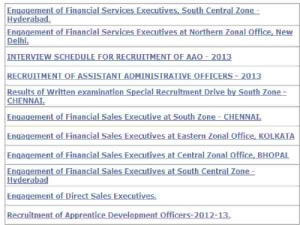 Careers In LIC