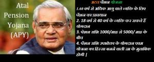 Pradhan Mantri Atal Pension Yojana (APY)