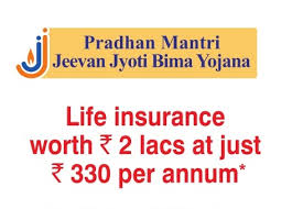 Pradhan Mantri Jeevan Jyoti Bima Yojana - PMJJBY